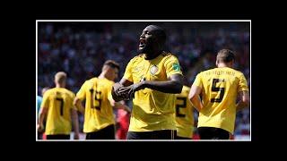 World Cup 2018: Romelu Lukaku leads Belgium to 5-2 win over Tunisia