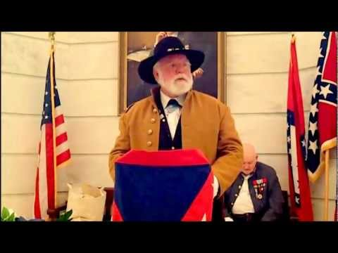 Confederate Flag Day 2013- Arkansas State Capitol