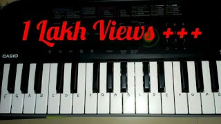 jeeta-tha-jiske-liya-from-dilwale-tutorial-on-paino-casio-sa-47-by-madan-mali