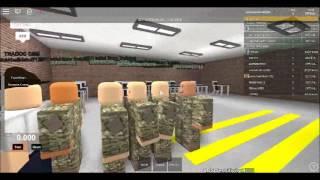Air Raid Drill in Roblox :O