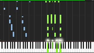 I'll Be There - The Jackson 5 [Piano Tutorial] (Synthesia) // Popular Piano Improv