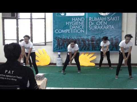 Team Gizi RS Dr.OEN Ska @ Lomba Dance Hand Hygiene