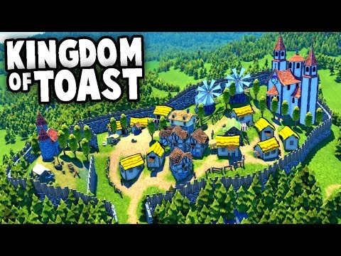 Building an EPIC KINGDOM of TOAST - NEW (Foundation Gameplay)