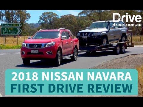 2018 Nissan Navara first drive review   Drive.com.au - Dauer: 4 Minuten, 56 Sekunden