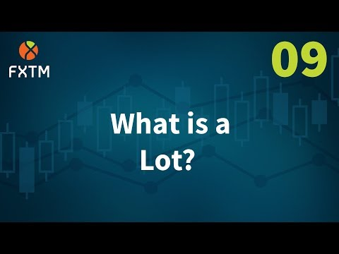 What is a Lot in Forex? | FXTM Learn Forex in 60 Seconds