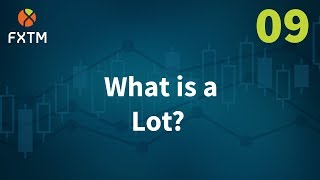 09 What is a Lot in Forex? - FXTM Learn Forex in 60 Seconds