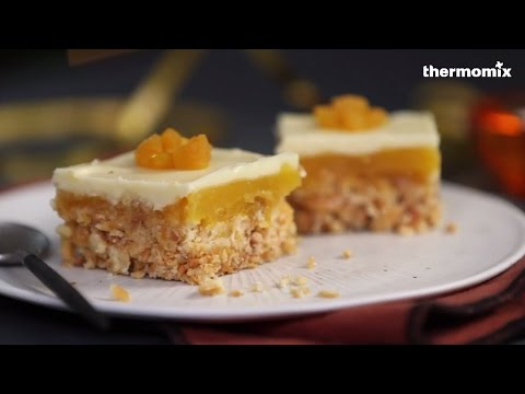 bouchée croquante à l'abricot au thermomix® tm5, recette issue des
