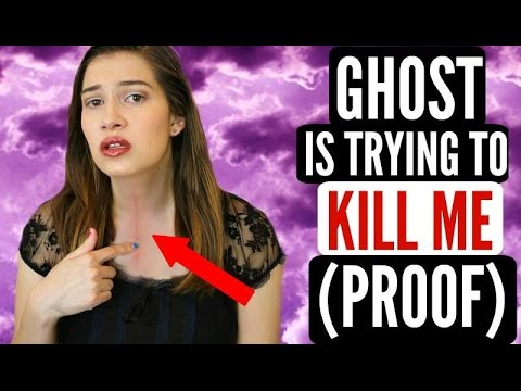 Ghost Under My Bed Is Trying To Kill Me!!! + PROOF!