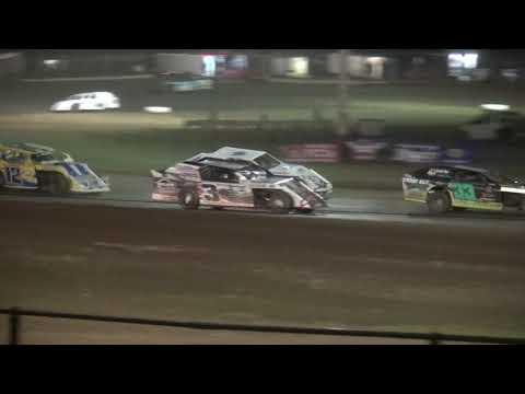 IMCA Sport Mod feature Cedar County Raceway 4/21/18