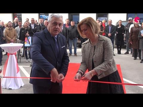 PRVI TV// Otvorenje novog prostora Sparkasse Bank u Mostaru