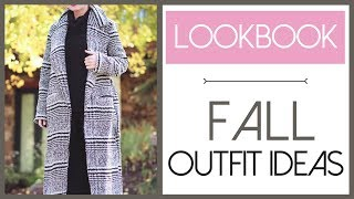 Fall Lookbook #1 | Seven Outfit Ideas