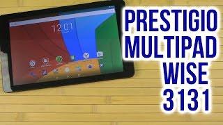 Распаковка Prestigio MultiPad Wize 3131