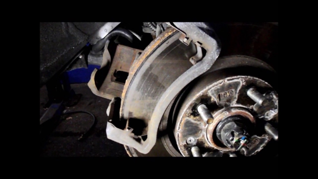 How To Replace Just The Brake Pads On A 2009 Hyundai