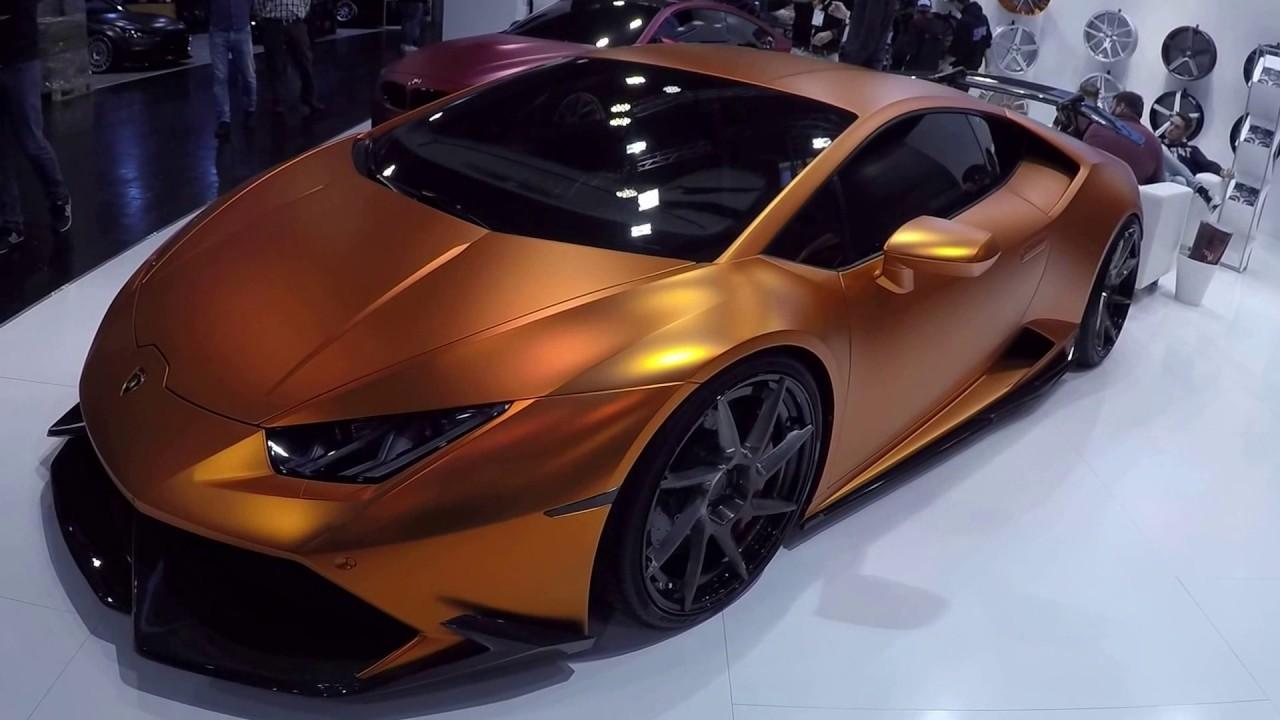 Lamborghini Huracan Compilation 2 Matte Orange And Matte Black