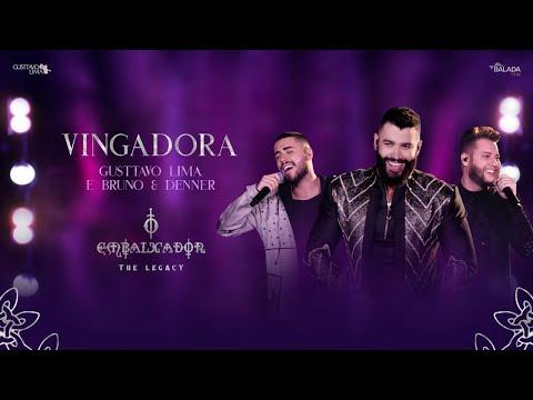 Смотреть клип Gusttavo Lima, Bruno & Denner - Vingadora