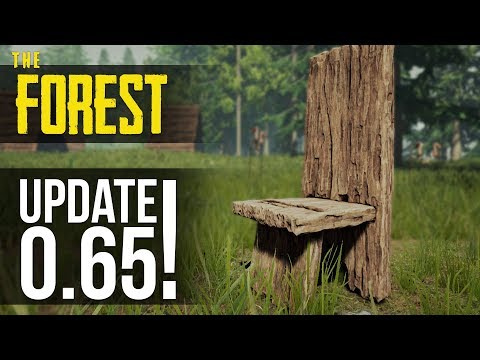 NEW UPDATE! Village Props, Skinned Textures and Boss Buff! The Forest