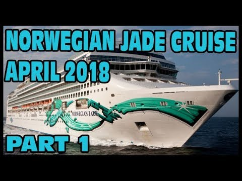 FIRST DAY ON THE SHIP | NORWEGIAN JADE | CRUISE VLOG PART 1
