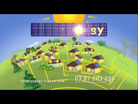 Film publicitaire France 3 - SolarEnergy