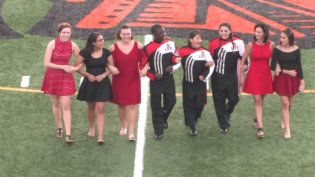 Lely High School  Marching Band  Senior Night 2016 2017