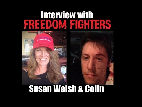 Freedom Fighters - Interview with Susan Walsh & Colin