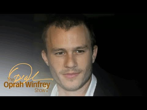 Daniel Day Lewis on Heath Ledger's Death While Speaking with Oprah | The Oprah Winfrey Show | OWN