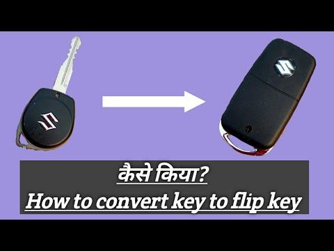 How To Convert Normal Key To Flipkey (hindi)