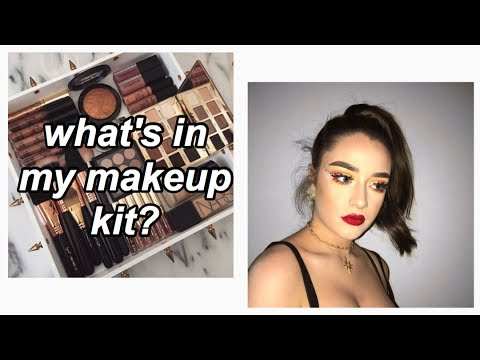 What's in my Makeup Kit? // Madison Ashleigh