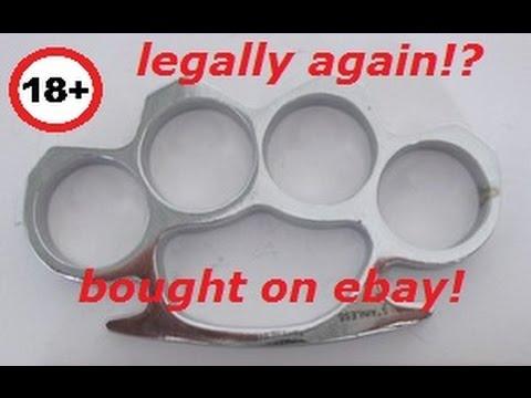 brass knuckles bought on ebay schlagring kaufen bei ebay. Black Bedroom Furniture Sets. Home Design Ideas