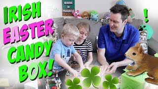 Irish Easter Egg Candy Surprise Package Gift from Amigo James Channel