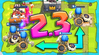 2.3 GIANT SKELETON CYCLE! • Fun Clash Royale Deck!