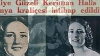 Я черкешенка-ответила Кериман.Первая в мире -королева красоты!