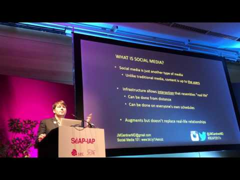 Why pathologists should use Twitter & Facebook - SEAP-IAP 2017 Valencia