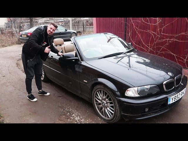 BUN VENIT IN FAMILIE #BMW E46 CABRIOLET (decapotabila)