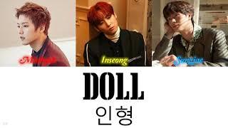 BTOB Minhyuk, Sungjae & SF9 Inseong (민혁, 성재, 인성) - DOLL (인형)…