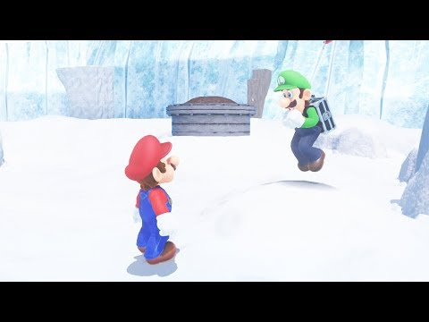 What Happens if You have 0 Coins and Talk to Luigi? Super Mario Odyssey