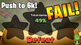 How Did I Fail!? - TH11 Push to 6K Trophies: Episode 2! - Clash of Clans - LaLoonion Pushing