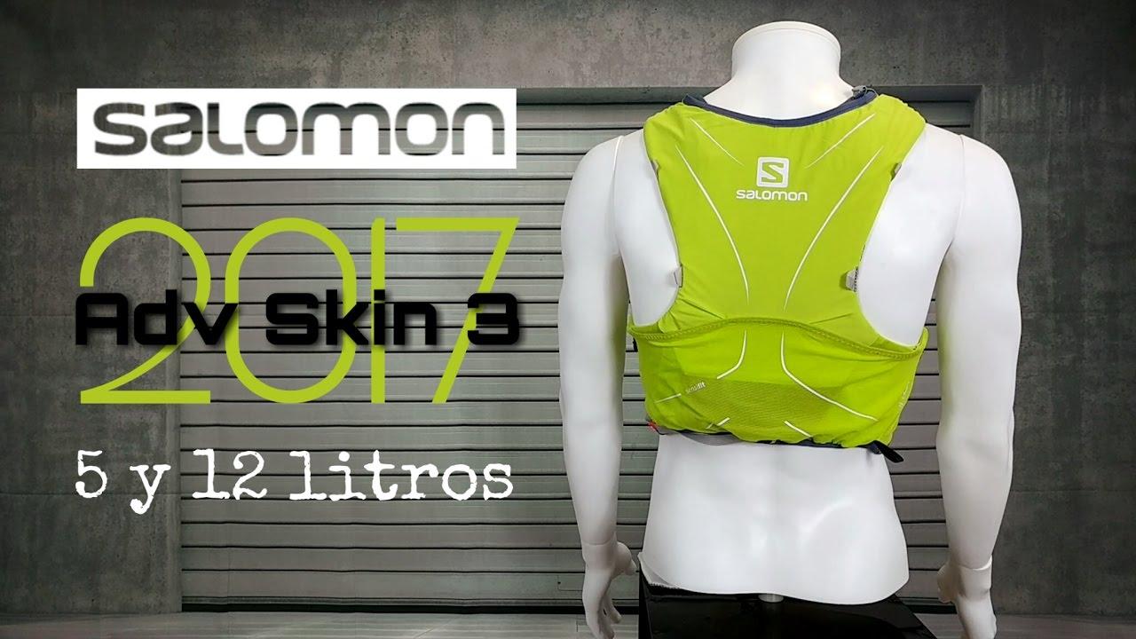mochila salomon s-lab sense ultra set 3 kg