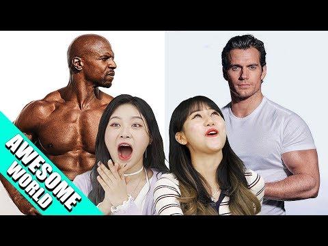 MALE BODY SHAPE THAT KOREAN WOMAN LIKE THE MOST!