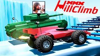 МАШИНКИ MMX HILL CLIMB #5 ЧУМОВЫЕ ТАЧКИ ГОНКИ игровой мультик про машинки машины монстры как ВСПЫШ