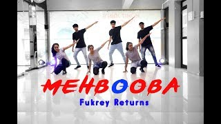 Mehbooba | Fukrey Returns | Mohit Jain's Dance Institute MJDi | Dance Choreography