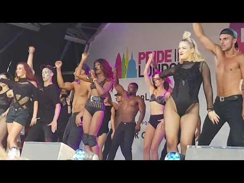 Sinitta  So Macho 17  at Pride 2017