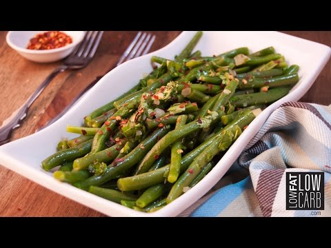 Marinated Green Beans With Cilantro And Garlic