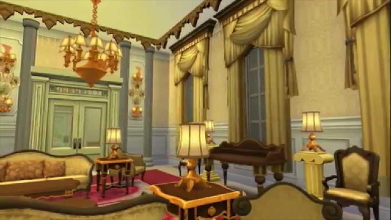 Sims 4 Palace  The Orlando Palace inspired by Buckingham
