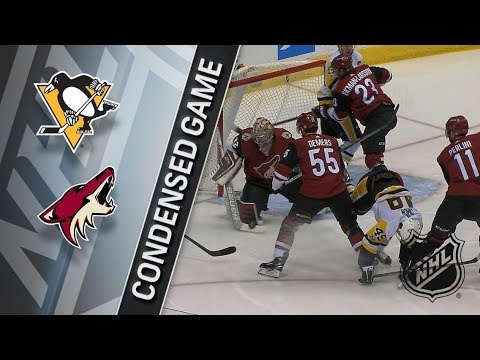 Pittsburgh Penguins vs Arizona Coyotes – Dec. 16, 2017 | Game Highlights | NHL 2017/18. Обзор матча