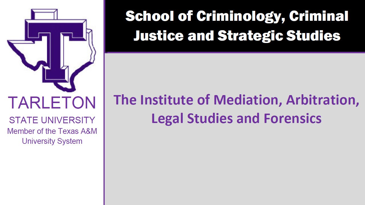 Tarleton State University Mediation Certification Youtube