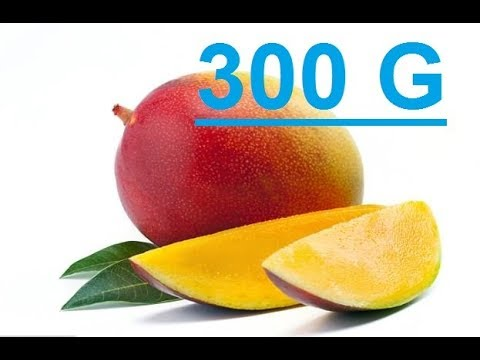 36 Men And Women Given A Daily Dose Of 300 Grams Of Mango..This What Happened