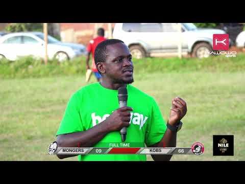 Post-match: Kobs Rugby Club coach Davis Kyewalabye