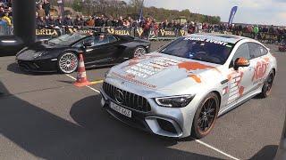 Lamborghini Aventador S vs Mercedes-AMG GT63 S 4MATIC