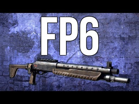 Ghosts In Depth - FP6 Shotgun Review (& Best Class)
