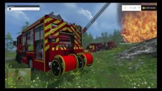 Straż pożarna #4 - Pożar lasu !